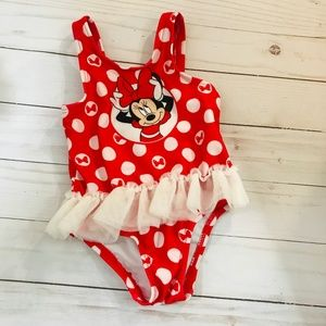 Disney Baby Mini Mouse Bathing suit Size 0/3 M